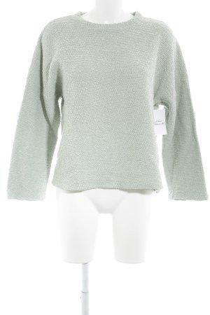 Zara Strickpullover mint Casual-Look
