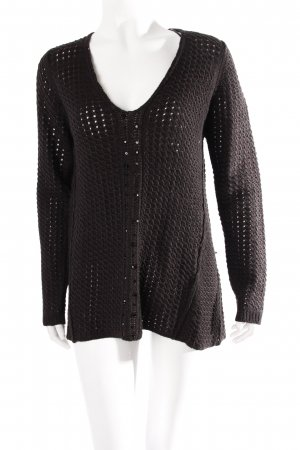 Zara knit sweater black