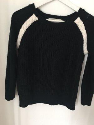 Zara Strickpullover schwarz weiß XS 34