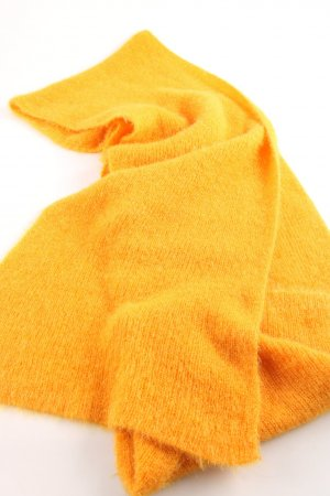 Zara Knitted Scarf light orange casual look