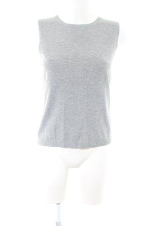 Zara Haut tricotés gris clair style décontracté