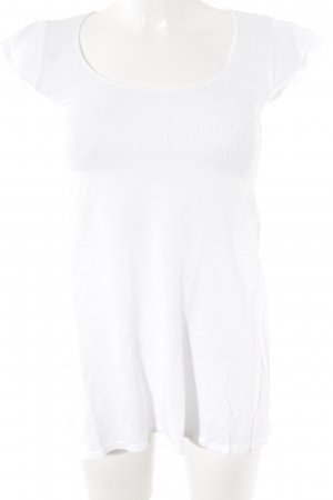 Zara Knitted Top natural white romantic style