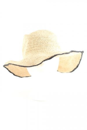 Zara Straw Hat black-sand brown casual look