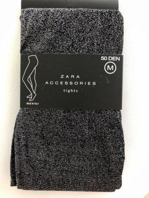 Zara Lingerie argenté-noir