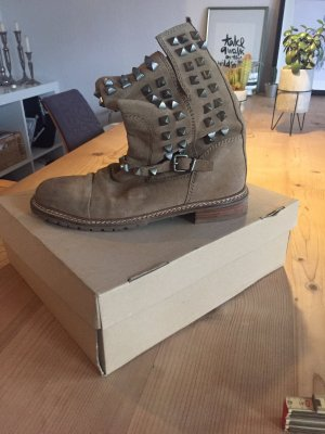 Zara Chukka boot multicolore daim