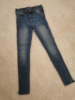 Zara Tube jeans korenblauw