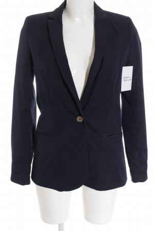 Zara Blazer sweat blu scuro stile casual