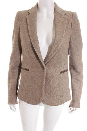 Zara Sweatblazer graubraun klassischer Stil