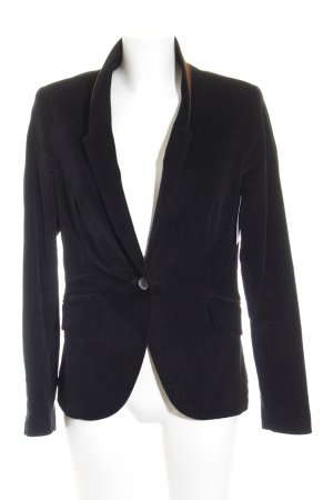 Zara Blazer sweat noir-brun style d'affaires