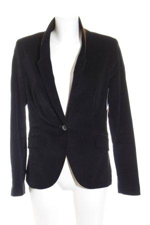 Zara Blazer sweat noir-brun style d'affaires