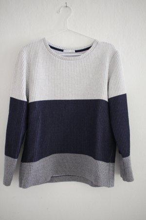 ZARA Sweater aus Rippstoff