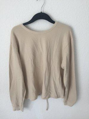 Zara Sweater mit Schnürung