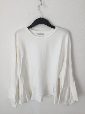 Zara Sweater mit Volants