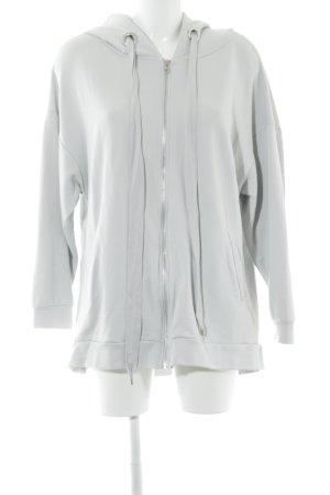 Zara Giacca fitness grigio chiaro stile casual