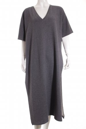 Zara Sweat Dress grey athletic style