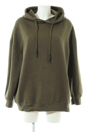 Zara Sweatshirt khaki sportlicher Stil