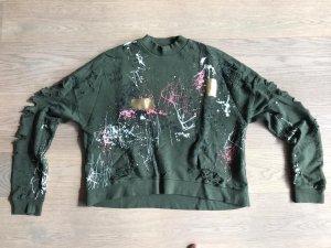 Zara Sweatshirt khaki
