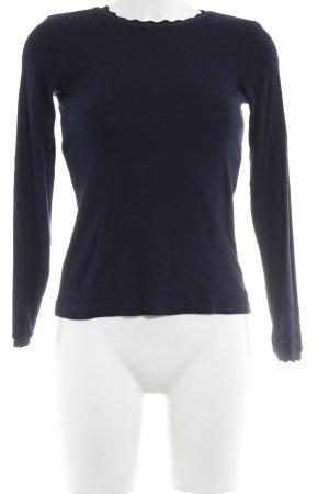 Zara Sweatshirt dunkelblau-schwarz