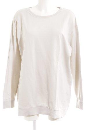Zara Sweatshirt hellbeige Casual-Look