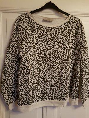 Zara Sweatshirt M schwarz/weiß
