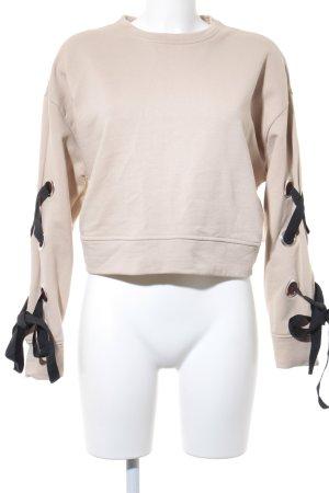 Zara Sweatshirt multicolore style romantique
