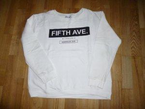 Zara Sweatshirt mit Aufdruck
