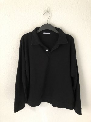 Zara Sweatshirt mit Polokragen