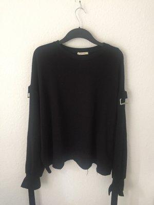 Zara Sweatshirt mit Schnallen
