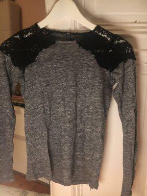 Zara sweatshirt mit Spitze