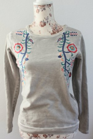 Zara Sweatshirt mit Stickerei in S