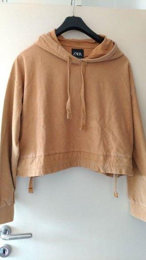 Zara - Sweatshirt mit verwaschner Optik Gr. L