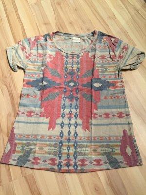 Zara Camiseta multicolor