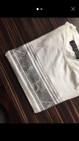 Zara Haut blanc-blanc cassé