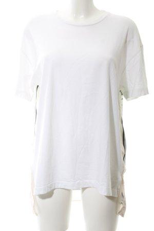 Zara T-Shirt abstraktes Muster Casual-Look