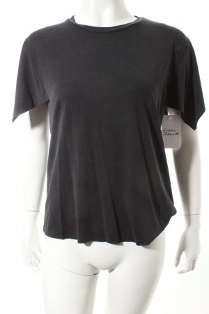 Zara T-Shirt anthrazit Casual-Look