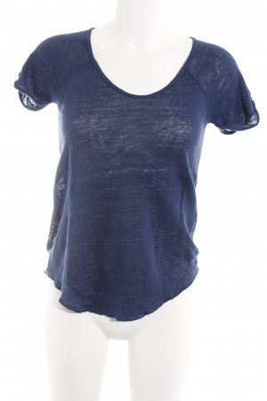Zara T-Shirt blau Casual-Look