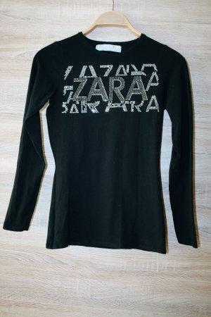 ZARA T-Shirt Gr. S schwarz