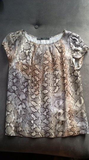Zara T-Shirt Größe S in Schlangenoptik