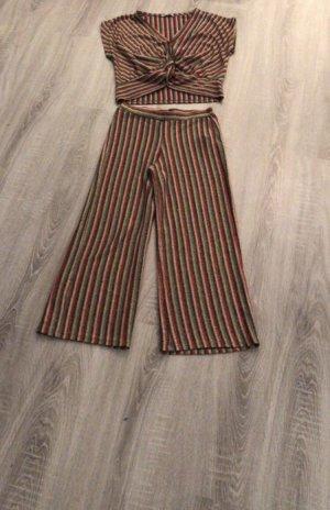 Zara Twin set bordeaux-marrone scuro