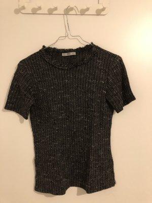Zara T-Shirt im Karomuster