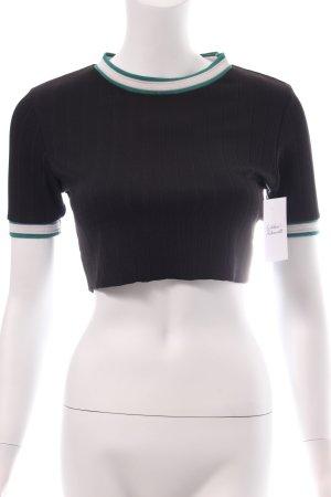 Zara T-Shirt mehrfarbig Urban-Look