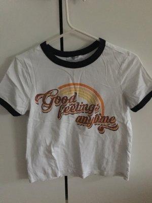 Zara T-Shirt mit Aufdruck