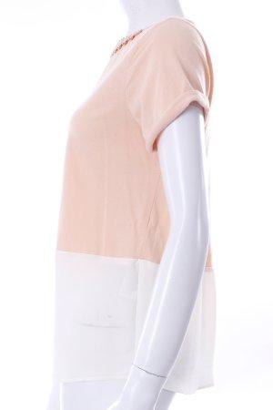 Zara T-Shirt mit Kette