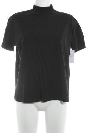 Zara T-shirt noir style décontracté