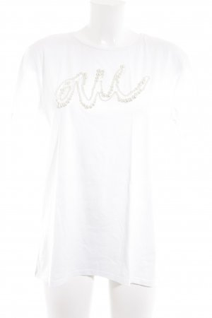 Zara T-Shirt weiß Casual-Look