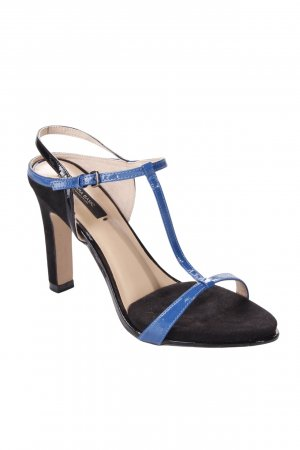 Zara T-Steg Pumps Lackoptik