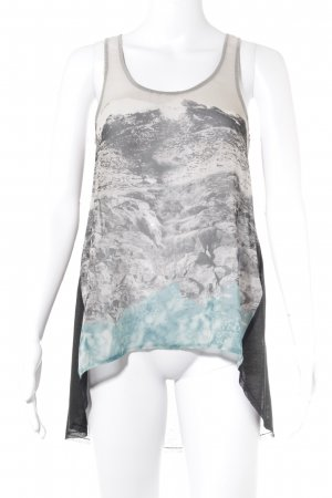 Zara Tanktop Motivdruck Street-Fashion-Look