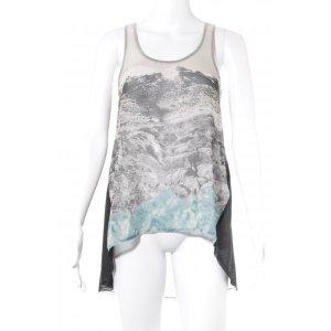 Zara Tanktop Motivdruck Street-Fashion-Look