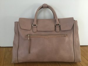 Zara Basic Bolso business rosa empolvado