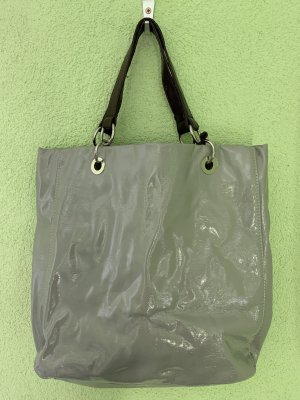 Zara Sac Baril gris-argenté